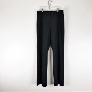 Tahari Size 8 Black Navy Work Pant Trousers K01